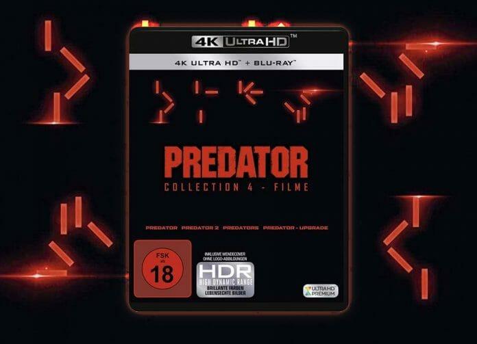 Die drei restaurierten Predator-Filme inkl. dem neuen Kinofilm