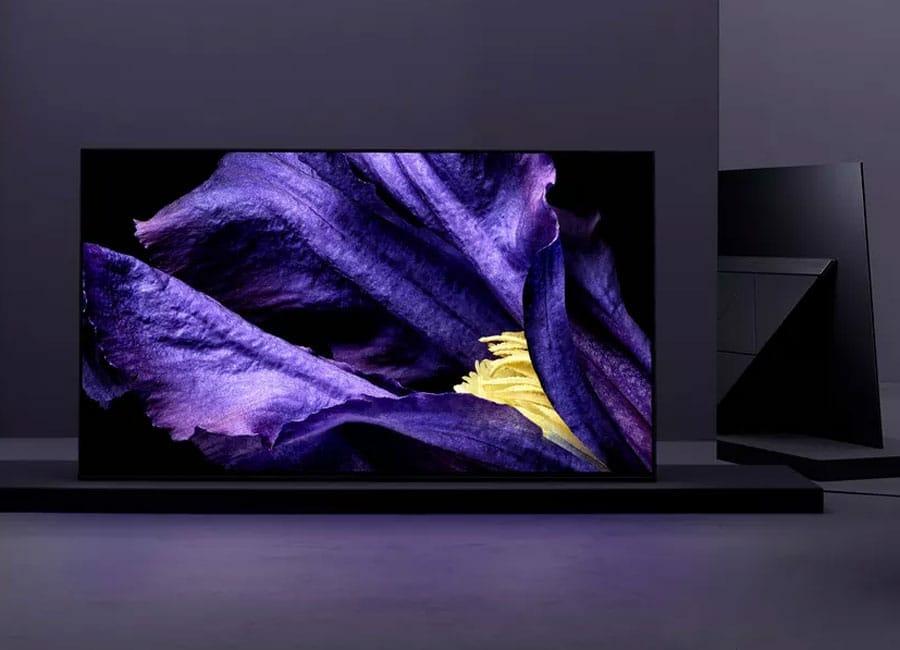 test af9 sony oled 4k fernseher mit 65 zoll 4k filme. Black Bedroom Furniture Sets. Home Design Ideas