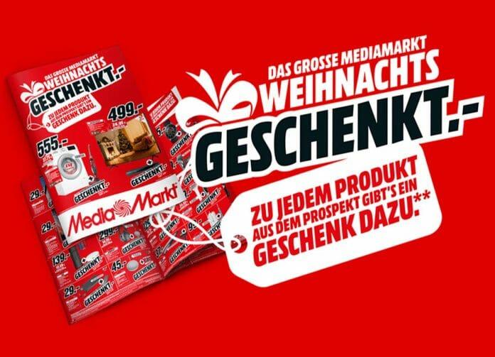 Zu jedem Produkt aus dem aktuellen MediaMarkt Prospekt gibt es ein Geschenk gratis dazu!