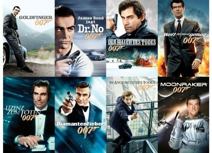 Insgesamt 17 James Bond 007 Filme stehen ab sofort auf iTunes in 4K Qualität bereit