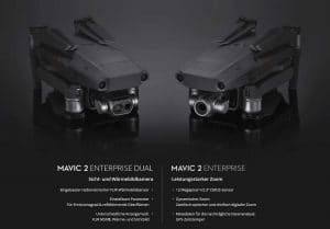 DJI Mavic 2 Enterprise Dual und Enterprise
