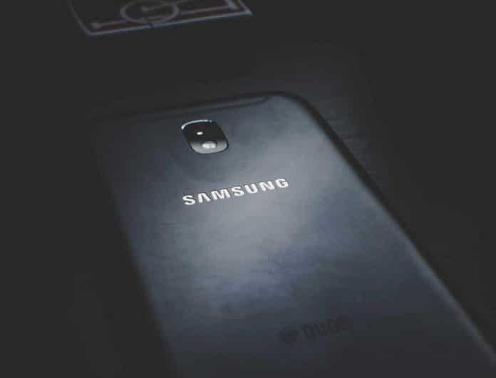 Samsung Logo Phone