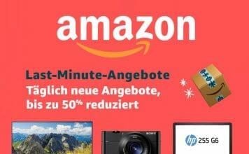 """Die """"Last-Minute-Angebote"""" auf Amazon.de - Weihnachts-Endspurt!"""