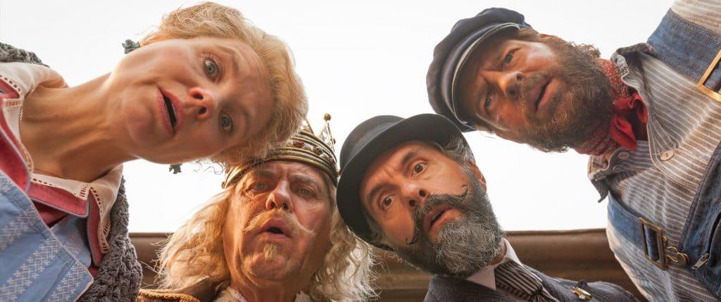 Hochkarätige Besetzung: Frau Waas (Anette Frier), König Alfons (Uwe Ochsenknecht), Herr Ärmel (Christoph Maria Herbst) und Lukas der Lokomotivführer (Henning Baum)