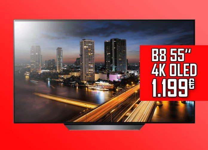 LG B8 55 Zoll 4K OLED für nur 1.199 Euro!