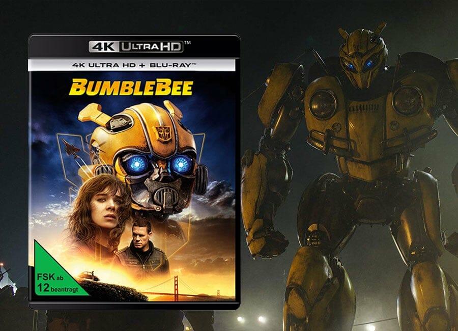 Transformers Film Bumblebee Erscheint Auf Dvd Hd 4k Blu Ray 4k Filme