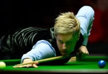 Snooker-Finale mit Eurosport 4K auf UHD1: Auch Titelverteidiger Neil Robertson ist mit dabei!
