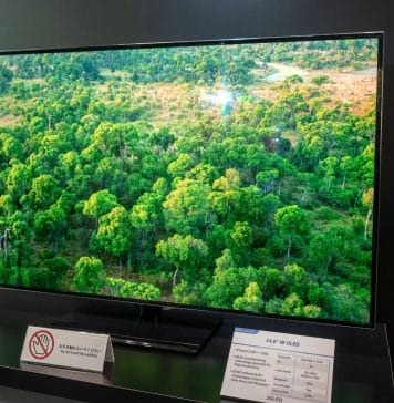 JOLEDs erster gedruckter 55 Zoll OLED TV mit 4K Auflösung