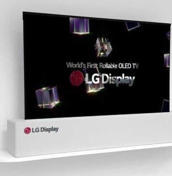 """LGs aufrollbarer """"Poster-OLED"""" TV soll 2019 in einer Endkunden-Variante erscheinen"""
