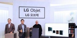 """LGs """"Objet""""-Serie mit Super UHD TV (Schrank) und Audio-System verbindet Funktionalität mit luxuriösem Design!"""