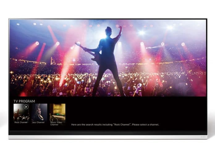 Die erste Abbildung eines LG OLED TV aus 2019 ist aufgetaucht!