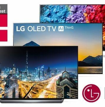LGs OLED & Super UHD TVs aus 2018 räumten in der Dezember-Ausgabe von Stiftung-Warentest ab!