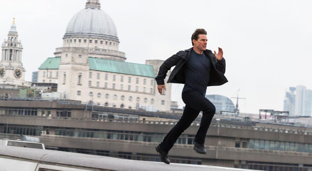 """Kein Tom Cruise Film ohne """"Speed-Running-Szene"""". Die deutsche Audio-Spur hat Paramount leider nicht gut hinbekommen. Da loben wir uns die Originalspur mit Dolby Atmos!"""