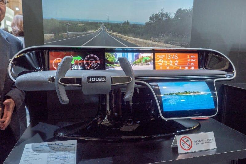 Kleinere Displays, z.B. für digitale Anzeigen für Autos stehen vorerst im Fokus von JOLED