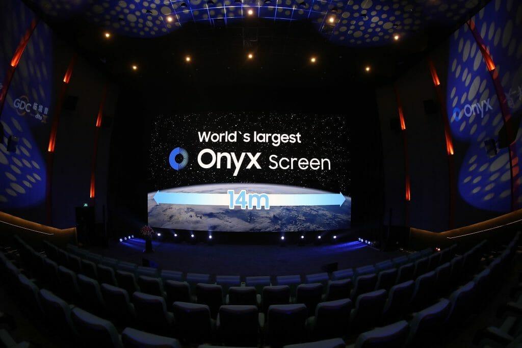 Selbst Kino-Neuerungen wie die Samsung Onyx LED-Kinoleinwand dürften es schwer haben, Kunden auf Dauer für das Kino zu begeistern
