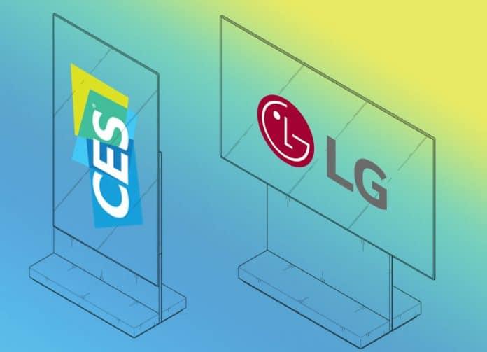 Zeigt LG erstmals einen rotierbaren OLED TV auf der CES 2019?