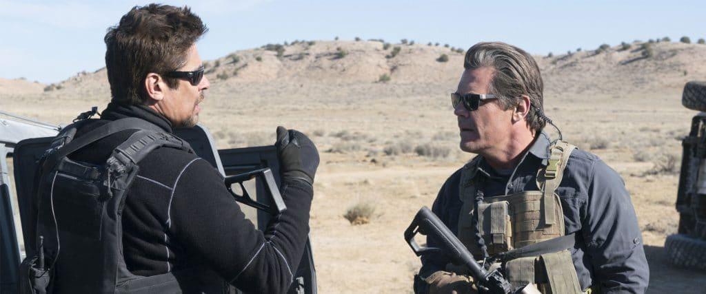 """Alejandro Gillick (Benicio Del Toro) und Matt Graver (Josh Brolin) sind auch in """"Sicario 2"""" ein Team"""