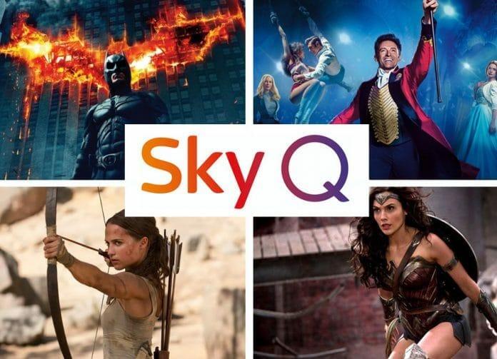 Sky Q präsentiert unzählige Film-Blockbuster zu Weihnachten. 80 davon in UHD-Qualität