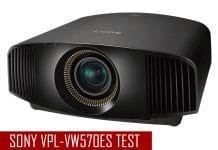 Sonys nativer 4K Projektor VPL-VW570ES in unserem Heimkino-Test