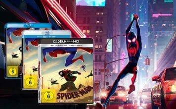 """Top-Kritiken aber nur wenig Kinobesucher: """"Spider-Man: A New Universe"""" jetzt auf 4K UHD Blu-ray vorbestellen!"""