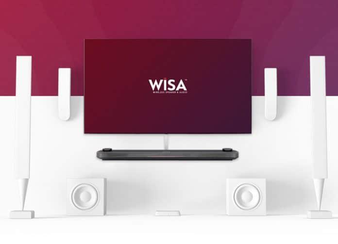 LG OLED & UHD TVs aus 2019 werden unkomprimierte Audiosignale kabellos via WiSA übertragen können!