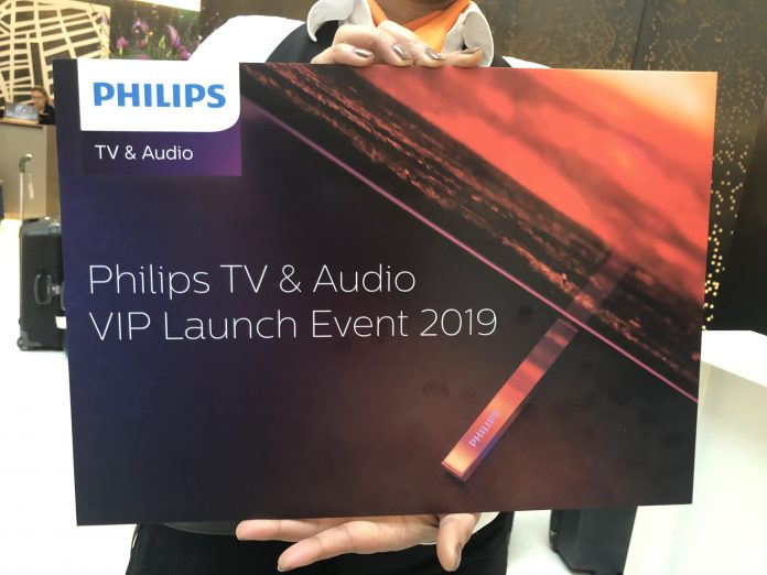 Erste Details vom Philips Tv & Audio Launch-Event 2019