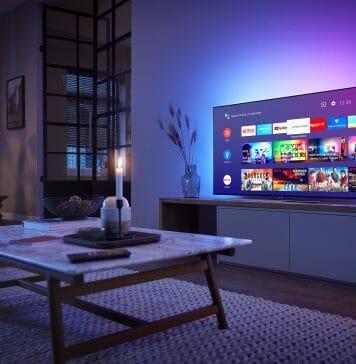 Zur Auslieferung werden die neuen Modelle mit Android TV 9 (Pie) ausgestattet sein