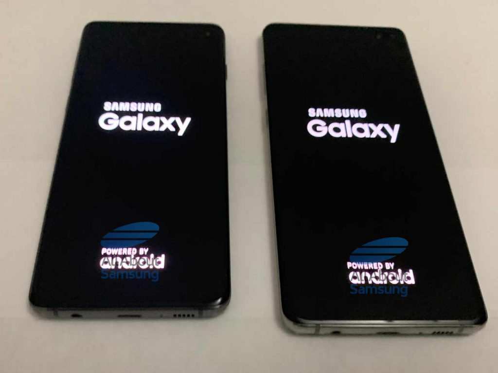 Samsung Galaxy S10 Boot