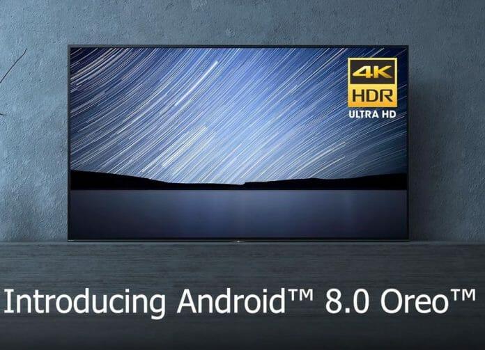 Android TV 8.0 (Oreo) steht endlich für Sonys Bravia 4K TVs aus 2016 - 2018 bereit