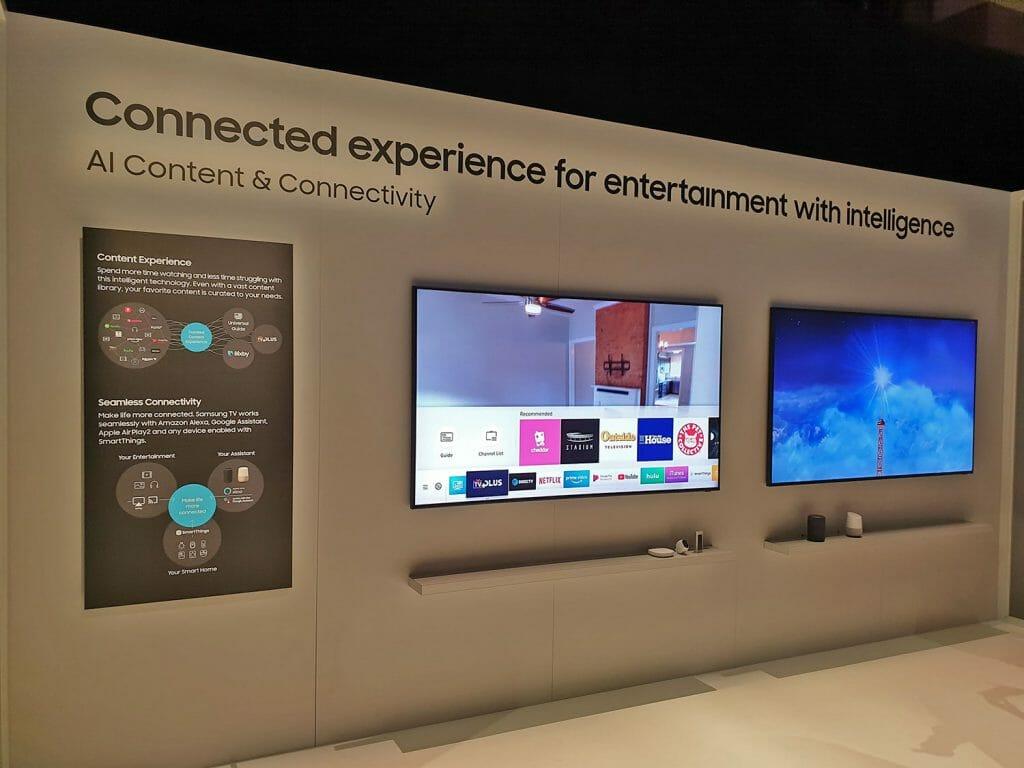 Mit Bixby 2.0, Google Assistant und Amazon Alexa lassen sich die neuen Smart TVs noch einfacher steuern. iTunes Movies & Series TV und AirPlay 2 bringen dagegen neuen Content und einfaches Content-Streaming auf die Samsung UHD-TVs