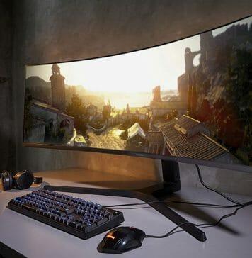 Samsungs CRG9 Ultra-Wide Gaming Monitor mit 49 Zoll ist ein Traum für Gamer