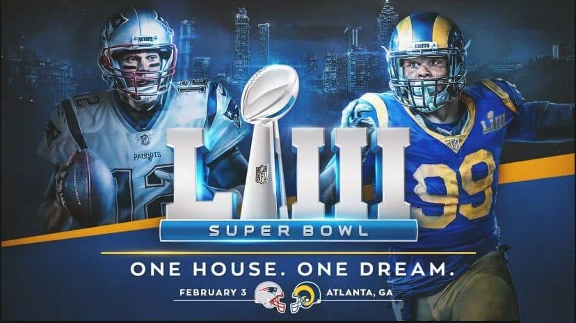 DAZN überträgt US-auch Sportarten, unter anderem den Super Bowl LIII Live (Patriots vs. Rams) Bildquelle: therams.com
