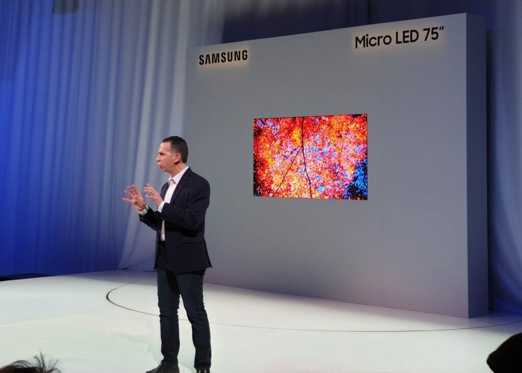 75 Zoll Micro LED TV