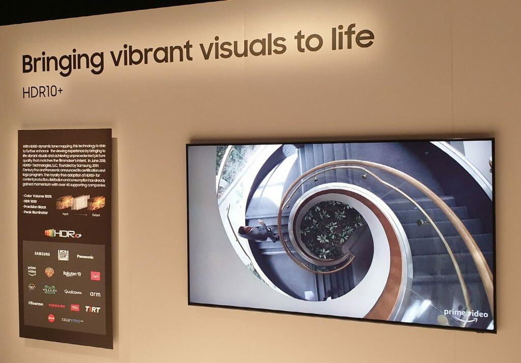 """Wenn es um """"Eigenentwicklungen"""" von Samsung geht, darf HDR10+ natürlich nicht fehlen"""