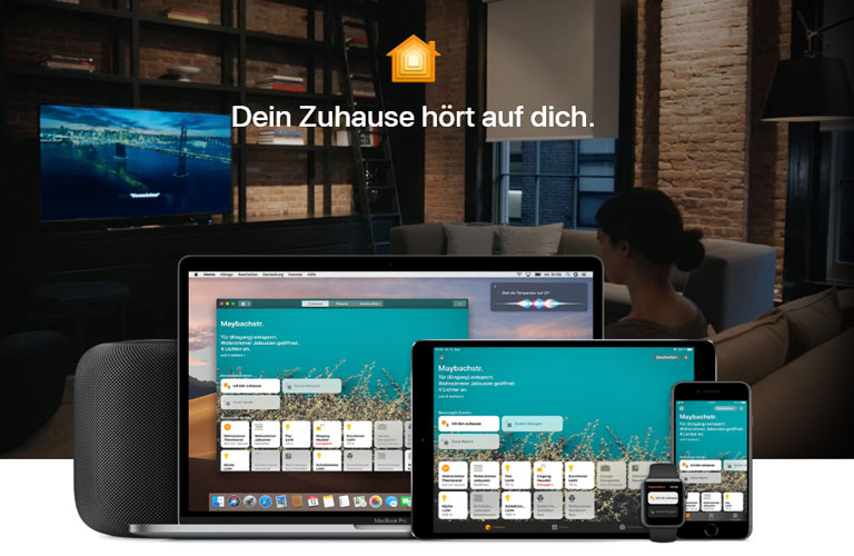 Apple HomeKit auf iOS Geräten