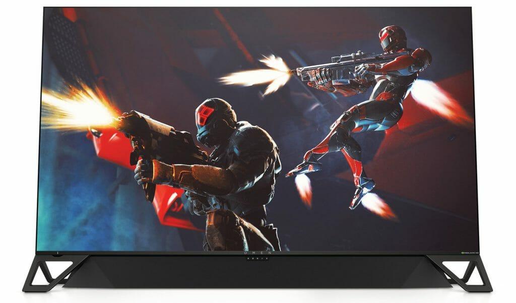 Der HP OMEN X Emperium 65 präsentiert sich im einem futuristischem Gaming-Style