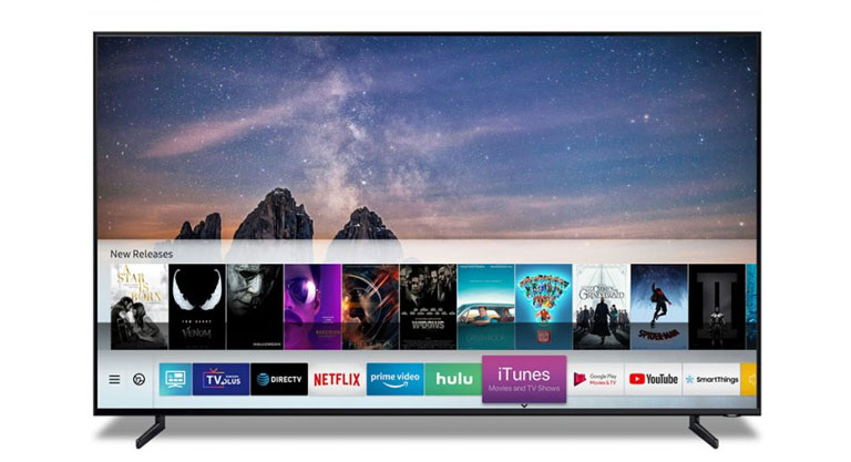 "Die ""iTunes Filme & Serien"" App auf Samsungs 2019 Smart TV"