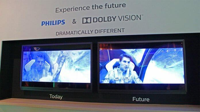 """""""Heimliche Beziehung""""? Bereits auf der IFA 2014 präsentierte Philips Dolby Vision Inhalte auf seinen TV-Geräten"""