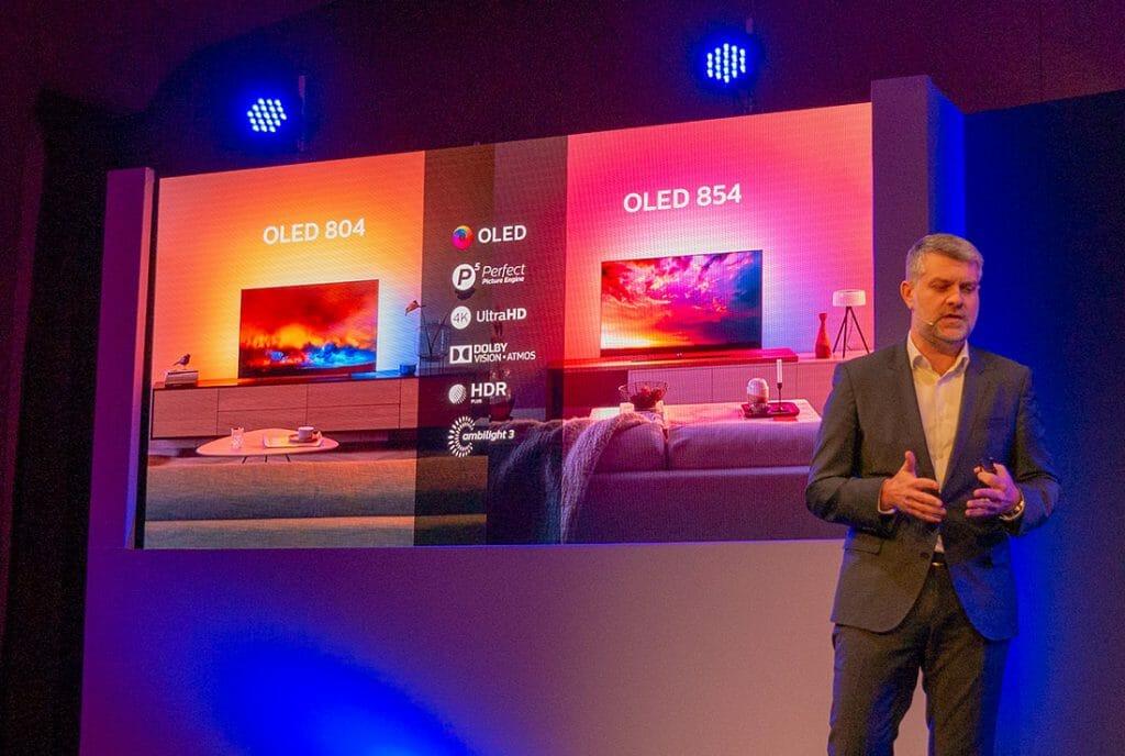 Die neuen Philips OLED804 und OLED854 Modelle unterstützen Dolby Vision