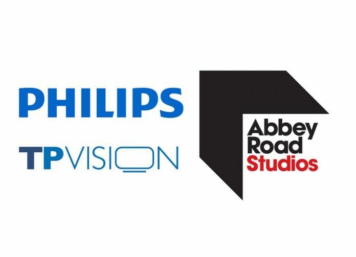 Philips und die legendären Abbey Road Studios gehen eine strategische Partnerschaft ein