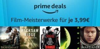 Top-bewertete Filme für nur 3.99 Euro in den Amazon Prime Deals
