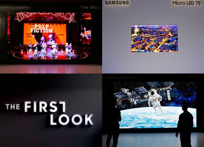 Die Highlights vom Samsung First Look Event auf der CES 2019