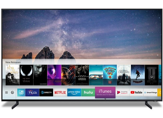 Samsung stattet seine 2018/2019 Smart TVs mit Apple iTunes und AirPlay 2 aus!