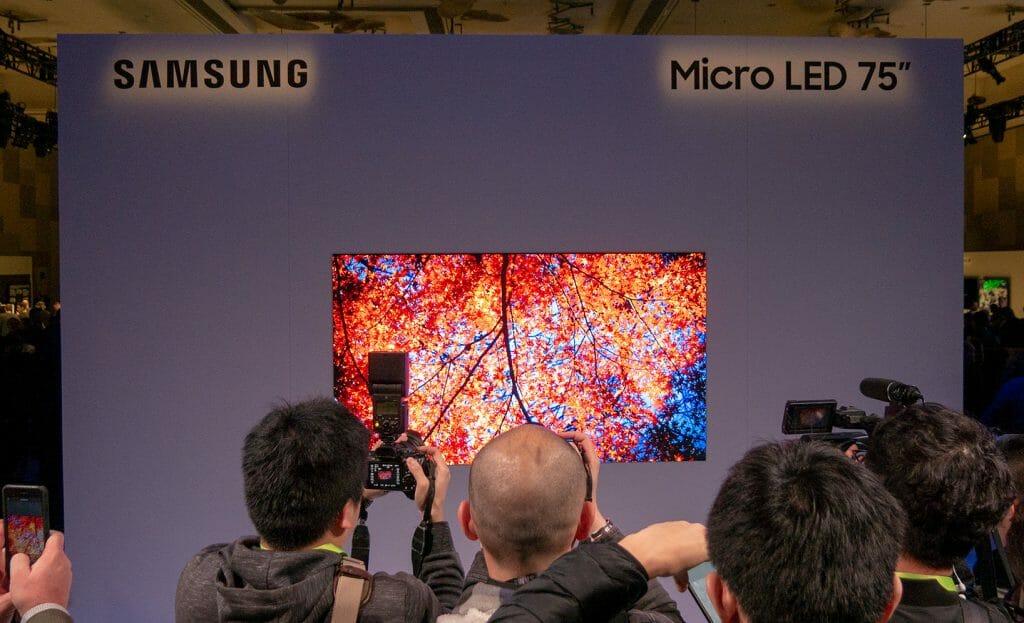 Kann Samsung mit seinem 75 Zoll Micro-LED-TV das High-End-Segment zurück erobern?