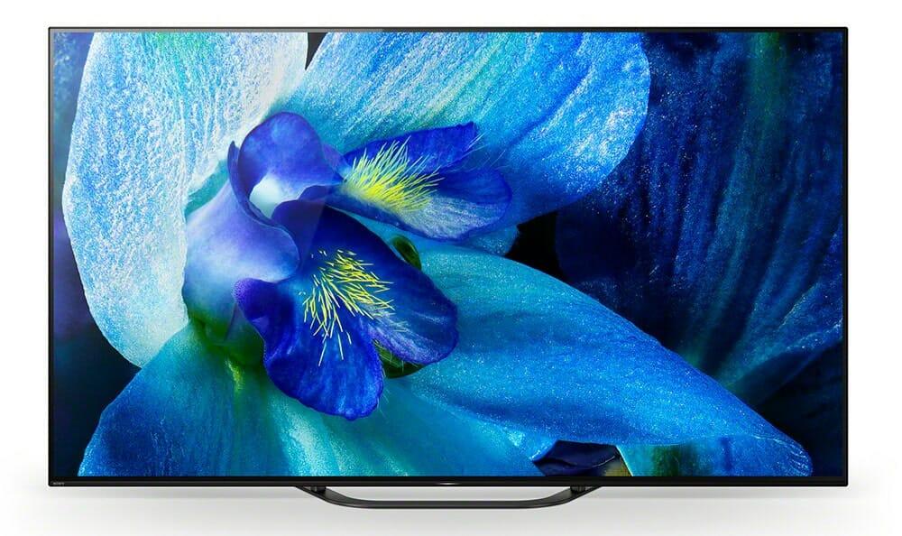 """Der Sony AG8 OLED bietet ein einfaches Design, kombiniert mit einem hochwertigen OLED-Display mit """"Acoustic Surface Audio"""""""