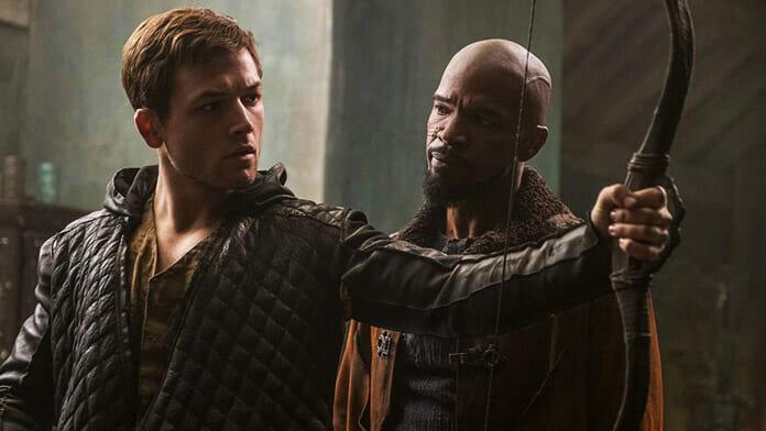 """Taron Egerton und Jamie Foxx vertreten in """"Robin Hood"""" die, die sich nicht wehren können."""
