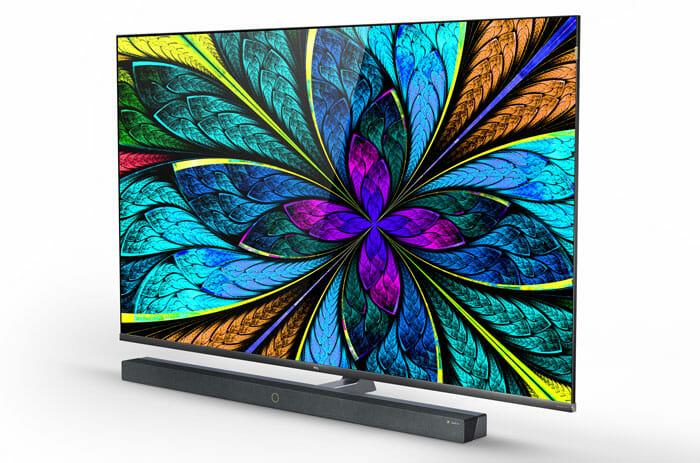 """Der TCL X10 unterstützt das dynamische HDR-Format Dolby Vision, während der Soundbar mit """"virtuellem Dolby Atmos""""-Klang aufwartet"""