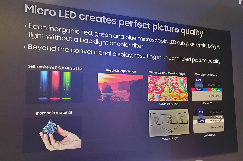 Samsung Enthüllt Micro Led Tvs Mit 75 Und 219 Zoll Ces 2019 4k Filme