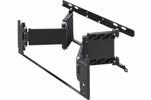 Mit der Wandhalterung SU-WL840 lässt sich der AG9 OLED ganz nah an der Wand anbringen und sogar schwenken