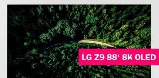 LG Z9 8K OLED TV mit 88 Zoll (220 cm)